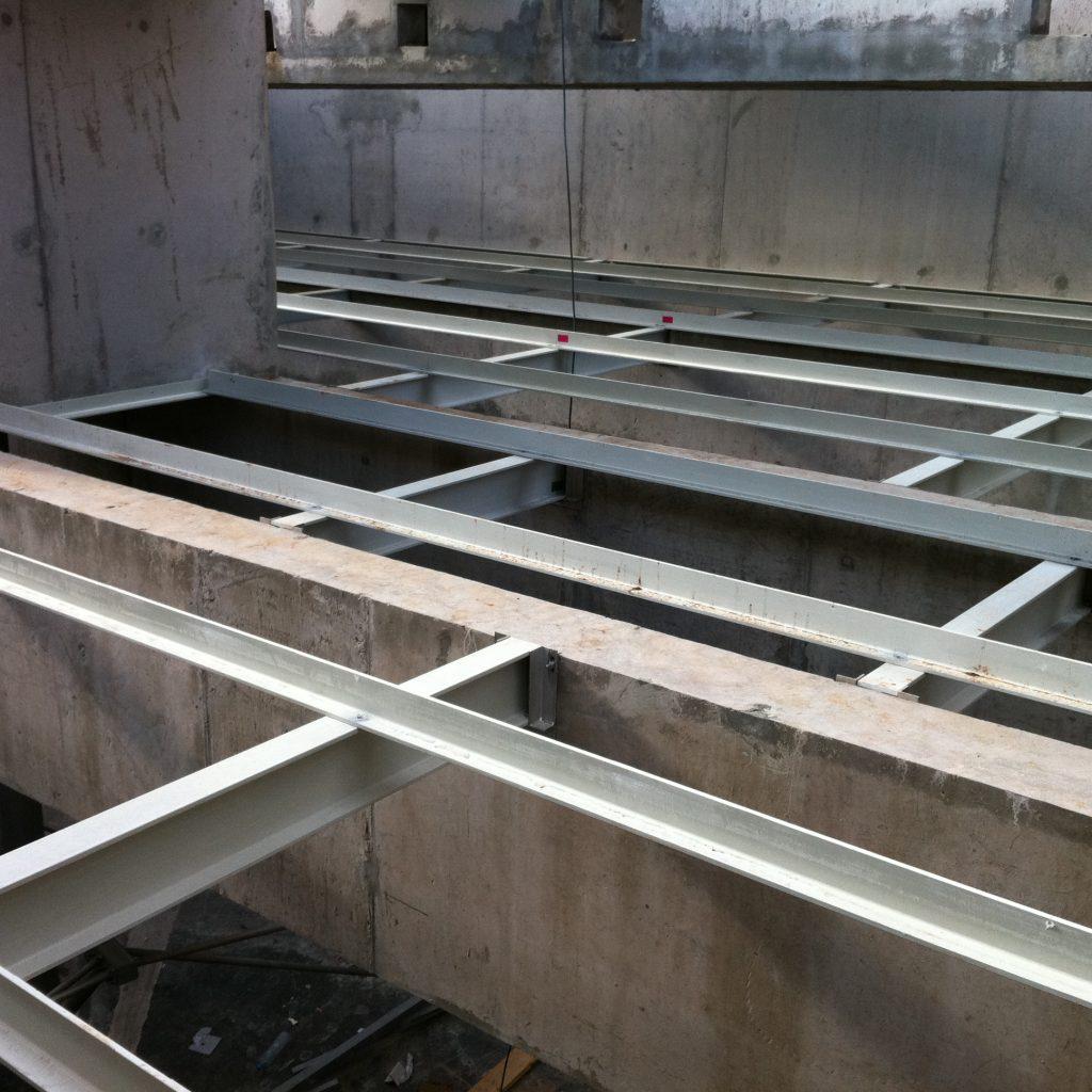 Estructura de soporte de lamelas - Tecnoconverting